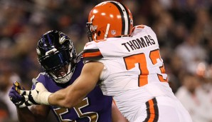 Tackles, AFC: Joe Thomas, Cleveland Browns