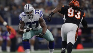 Tackles, NFC: Tyron Smith, Dallas Cowboys