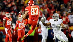 Tight Ends, AFC: Travis Kelce, Kansas City Chiefs
