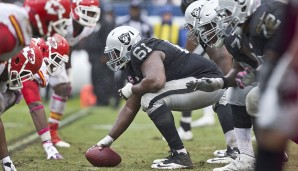 Center, AFC: Rodney Hudson, Oakland Raiders