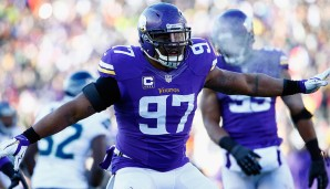 Defensive Ends, NFC: Everson Griffen, Minnesota Vikings