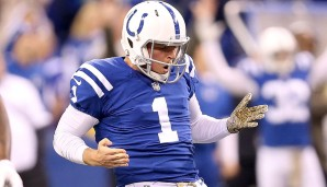 Punter, AFC: Pat McAfee, Indianapolis Colts