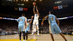 WESTERN CONFERENCE, STARTING FRONTCOURT: Kevin Durant (Golden State Warriors)