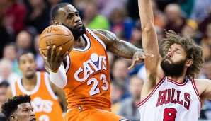 EASTERN CONFERENCE, STARTING FRONTCOURT: LeBron James (Cleveland Cavaliers)