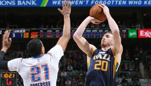 Gordon Hayward (Utah Jazz)