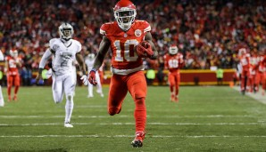 Punt Returner - Tyreek Hill (Kansas City Chiefs)