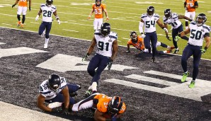 Platz 14: Super Bowl, Februar 2014: Seattle Seahawks - Denver Broncos 43:8