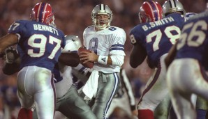 Platz 14: Super Bowl, Januar 1993: Dallas Cowboys - Buffalo Bills 52:17