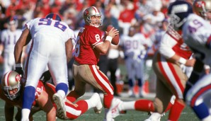 Platz 7: NFC-Divisional-Runde, Januar 1994: San Francisco 49ers - New York Giants 44:3