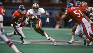Platz 5: Super Bowl, Januar 1990: San Francisco 49ers - Denver Broncos 55:10