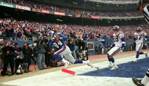Platz 7: NFC-Championship-Spiel, Januar 2001: New York Giants - Minnesota Vikings 41:0