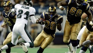 2001: St. Louis Rams - Philadelphia Eagles 29:24