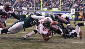2002: Philadelphia Eagles - Tampa Bay Buccaneers 10:27