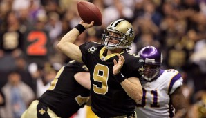 2009: New Orleans Saints - Minnesota Vikings 31:28