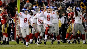 2011: San Francisco 49ers - New York Giants 17:20