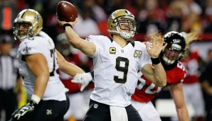 PASSING YARDS: 1. Drew Brees, New Orleans Saints (5208 YDS)