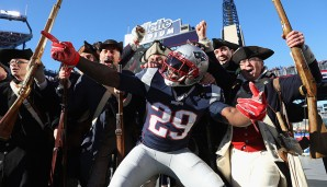 RUSHING TOUCHDOWNS: 1. LeGarrette Blount, New England Patriots (18 TD)