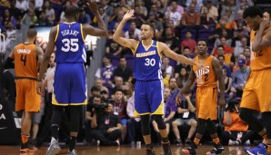 Platz 3: Golden State Warriors - 2,6 Milliarden Dollar