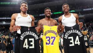 KOSTAS ANTETOKOUNMPO (23, Power Forward) - bleibt bei den Los Angeles Lakers - Vertrag: Two-Way-Contract