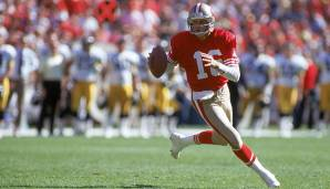 19.: Joe Montana (1979-1994): 40.551 Yards.