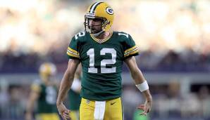 15.: Aaron Rodgers (seit 2005): 45.662 Yards.