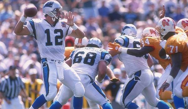 19.: Kerry Collins (1995-2011): 40.922 Yards.
