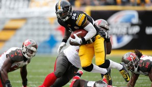 1.: Le'Veon Bell, Pittsburgh Steelers - 94 Overall