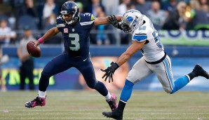 QUARTERBACKS: 5.: Russell Wilson, Seattle Seahawks - 91 Overall