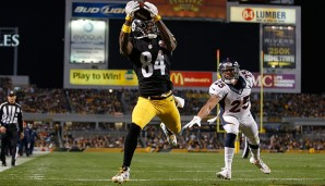 1.: Antonio Brown, Pittsburgh Steelers - 97 Overall