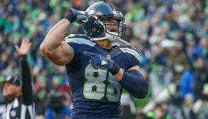 TIGHT ENDS: 5.: Jimmy Graham, Seattle Seahawks - 89 Overall