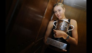 Maria Sharapova hat alle Grand-Slam-Turniere einmal gewonnen. Im Mai 2012 triumphierte sie bei den French Open in Paris