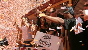 2010 - San Francisco Giants (4-1 gegen Texas Rangers), MVP: Shortstop Edgar Renteria