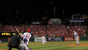 2011 - St. Louis Cardinals (4-3 gegen Texas Rangers), MVP: Third Baseman David Freese