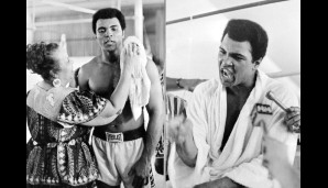 Gestatten: Cassius Marcellus Clay Jr alias Muhammad Ali. Weltmeister. Legende. Oder einfach: The Greatest of All Time
