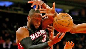 PLATZ 10: Dwyane Wade - 3.910 Punkte in 174 Spielen - Miami Heat, Chicago Bulls (Stand: 17. April 2018)
