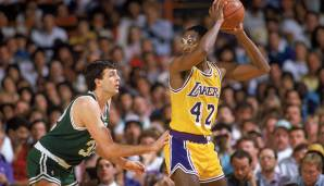 PLATZ 25: James Worthy - 3.022 Punkte in 143 Spielen - Los Angeles Lakers