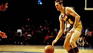 PLATZ 8: Jerry West - 4.457 Punkte in 153 Spielen - Los Angeles Lakers