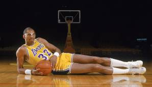 PLATZ 3: Kareem Abdul-Jabbar - 5.762 Punkte in 237 Spielen - Milwaukee Bucks, Los Angeles Lakers