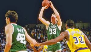 PLATZ 11: Larry Bird - 3.897 Punkte in 164 Spielen - Boston Celtics