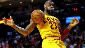 PLATZ 1: LeBron James - 6.187 Punkte in 218 Spielen - Cleveland Cavaliers, Miami Heat (Stand: 17. April 2018)