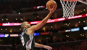 PLATZ 9: Tony Parker - 4.016 Punkte in 223 Spielen - San Antonio Spurs (Stand 17. April 2018)
