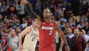 Dwyane Wade hat mit seiner Vintage-Performance nicht nur für den Sieg der Miami Heat gesorgt. Der Shooting Guard kletterte mit seinen 28 Punkten auch in die Top 10 der All-Time Scoring List.