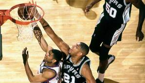 1999: San Antonio Spurs (4-1 gegen New York Knicks). Finals MVP: Tim Duncan