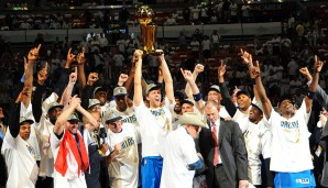 2011: Dallas Mavericks (4-2 gegen Miami Heat). Finals MVP: Dirk Nowitzki