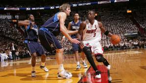 2006: Miami Heat (4-2 gegen Dallas Mavericks). Finals MVP: Dwyane Wade