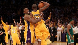 2010: L.A. Lakers (4-3 gegen Boston Celtics). Finals MVP: Kobe Bryant