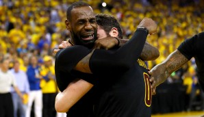 2016: Cleveland Cavaliers (4-3 gegen Golden State Warriors). Finals MVP: LeBron James