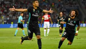 Platz 71: Casemiro (Real Madrid) - 85