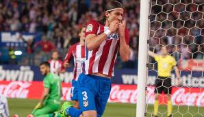 Platz 78: Filipe Luis (Atletico Madrid) - 85