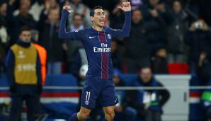 Platz 79: Angel Di Maria (Paris Saint-Germain) - 85